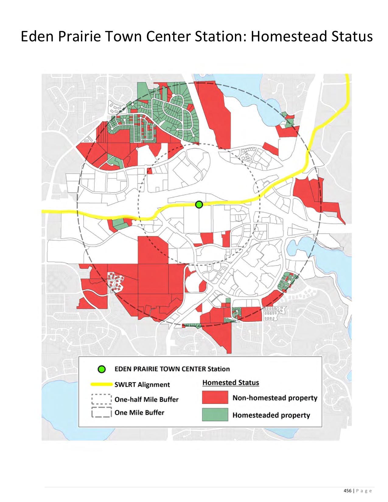 Eden Prairie Town Center Station deferred Hennepin County