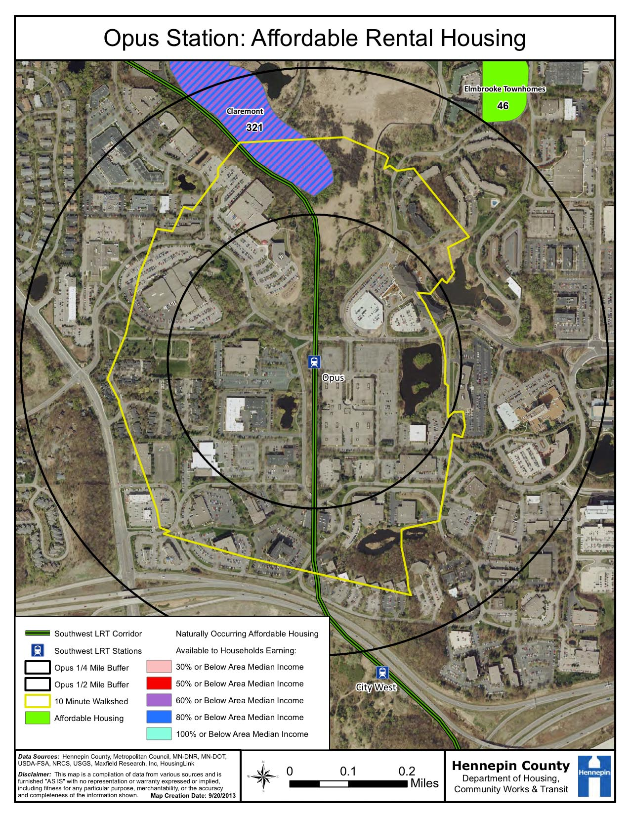 summary opus station affordable housing map