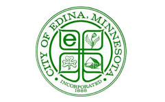 edina city logo