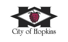 hopkins city logo